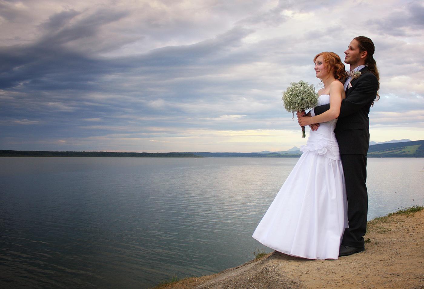 Svadba foto Oravská priehrada