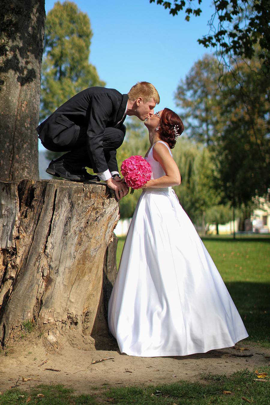 Horolezecká svadba Manínska Tiesňava